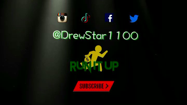 """Tag a artist that would rip this beat‼️💯 """"Run It Up"""" instrumental prod by @drewstar1100 on our #youtubechannel LINK  🔥 Follow @_dsproductions for more of my work💯   #Musicproducer #trapbeats #beatmaker #runitup #dmv #instumental #FRIDAY #fridayvibes"""