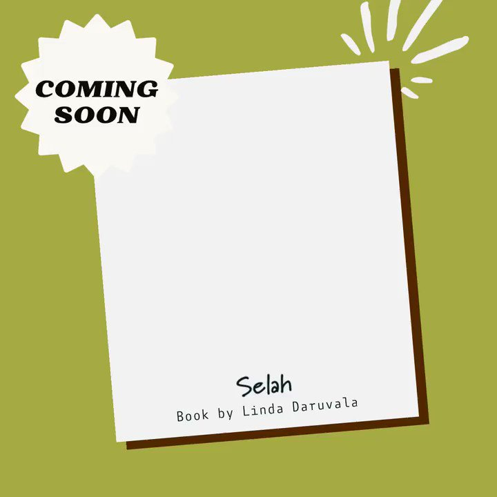 Coming soon: Selah A collection of poems birthed from stillness, by Linda Daruvala #comingsoon #poetry #books #stillness #peace #nature #reflection #psalms