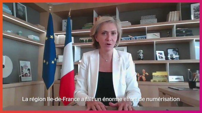 🗓️ @vpecresse, Présidente du Conseil régional d'@iledefrance, a présenté l'importan...