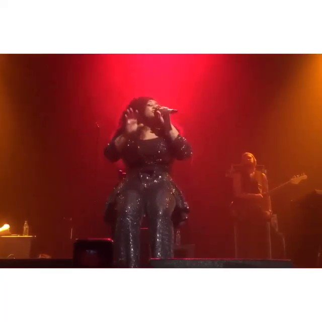 Really missing the live experience. jazmine sullivan's 'reality show' tour felt like church! One of the best shows I've ever been to. 🙌🏾🔥