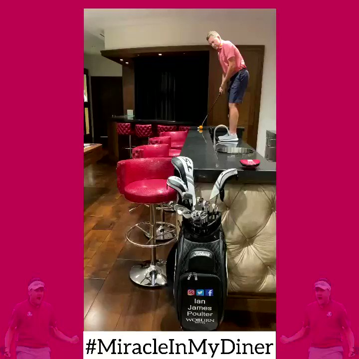 #MiracleInMyDiner - Everyone needs a little lockdown fun, so give it your best shot and make sure to tag me and use the hashtag!   Let's see what you got👊🏼  @RyderCupEurope @EuropeanTour @rydercup