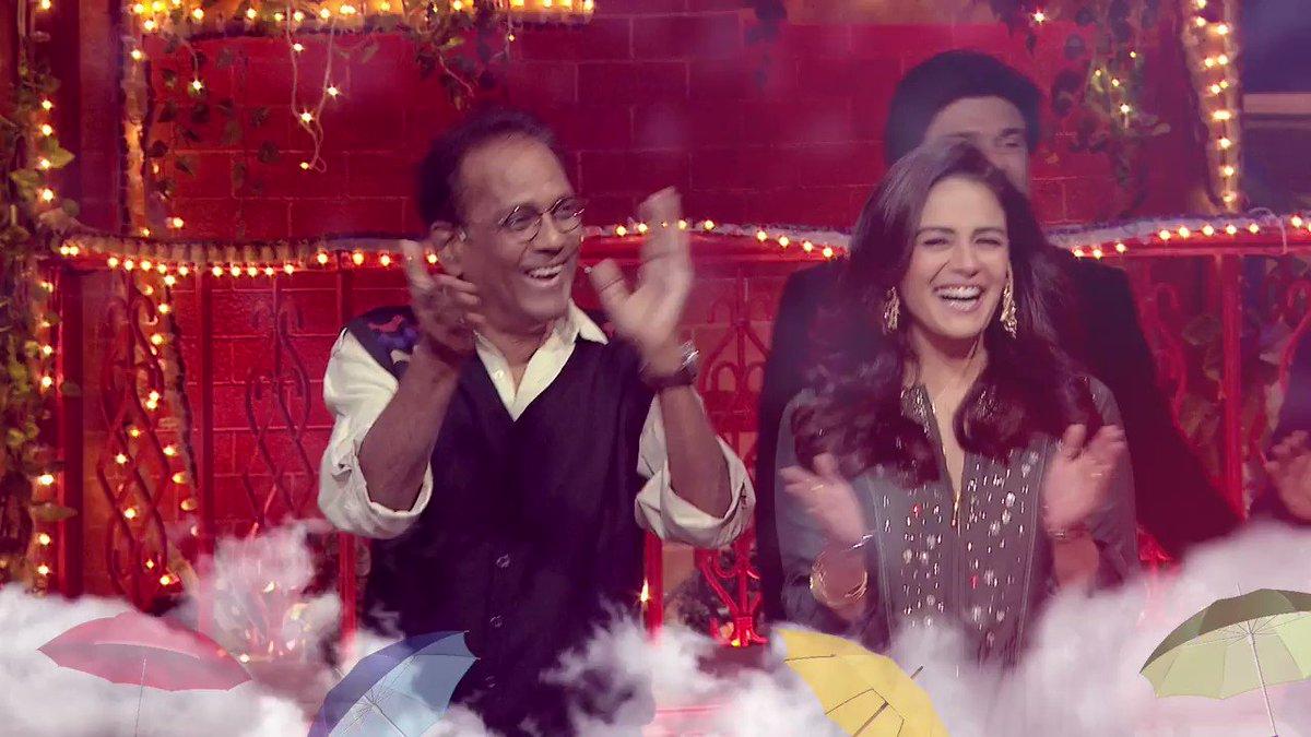 Waggish Baccha Yadav makes #MonaSingh laugh her heart out with his hilarious jests !!  The family members of Jassi Jaise Koi Nahin graces #TheKapilSharmaShow this weekend at 9:30 PM ET/PT on #SonyTV #SonyTVUSA @gauravgera @samirsoni123  @KapilSharmaK9 @apshaha @Krushna_KAS
