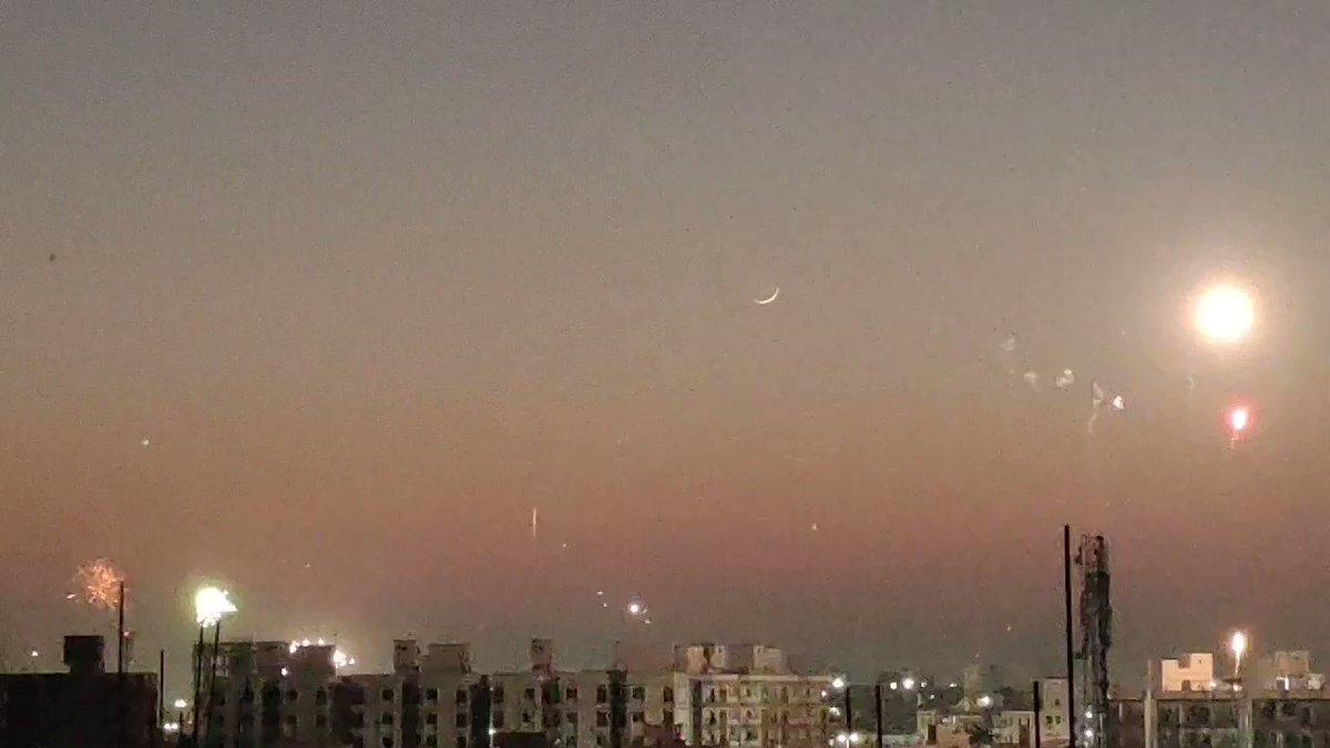 ___________________________ In the window across from me, A piece of the moon lives...🌛  #moon #poetry #MoonLovers #MakarSankranti2021 #goodnight @Aapnu_vadodara @ourvadodara