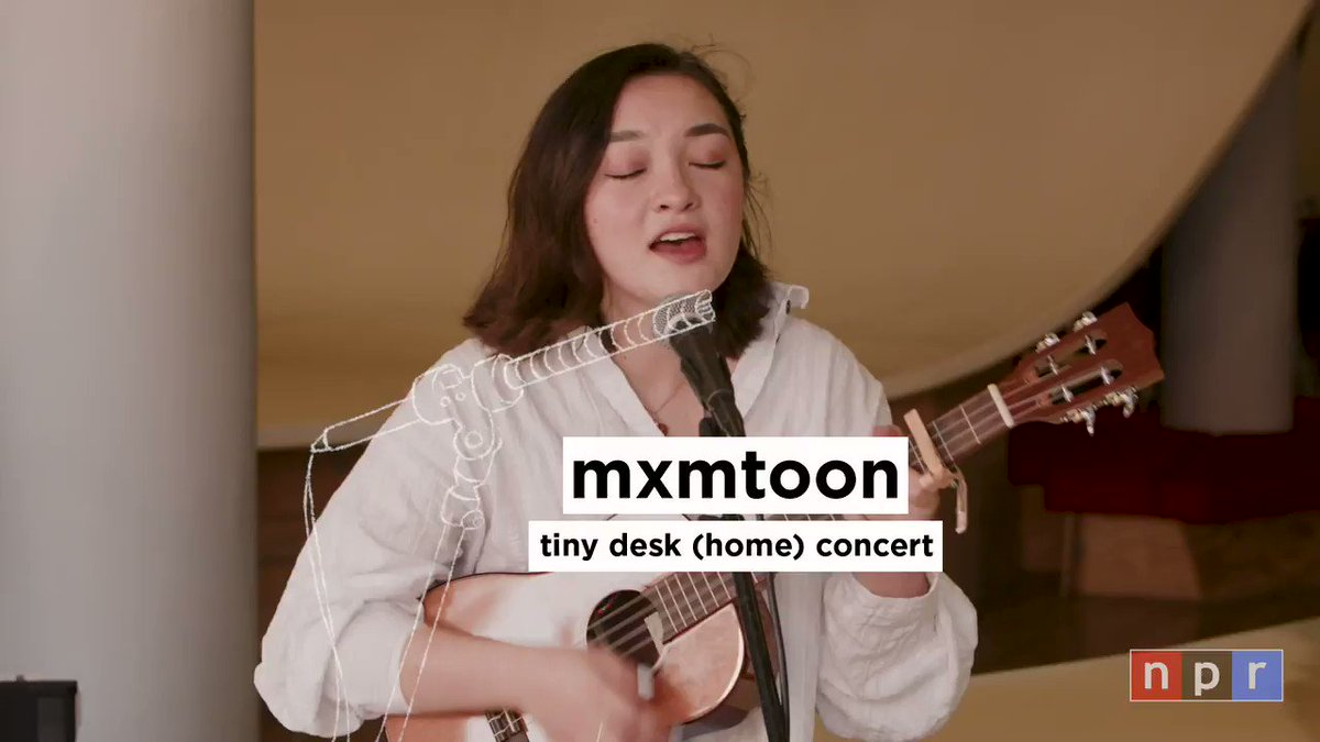 after years of watching @NPR tiny desk performances, i am so happy to share i finally did my own :,)