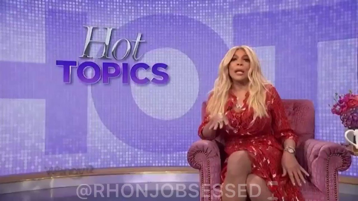 Wendy Williams discusses the #RHONJ season 11 trailer on yesterday's Hot Topics! Note: Wendy did get something in the trailer wrong you'll have to tune in to find out 😉