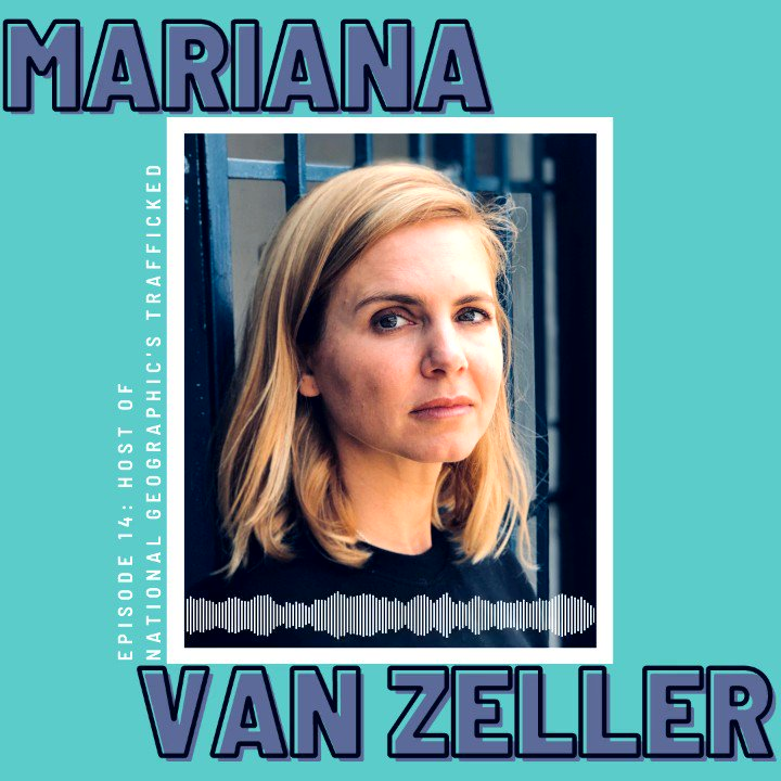 Replying to @Explain_Podcast: Have you listened to our episode with @MarianaVZ? You can now catch Trafficked on @hulu!