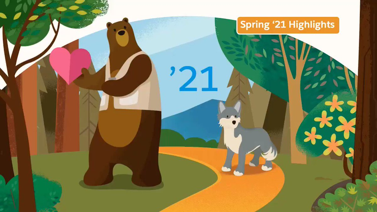 The countdown continues until the newest innovations in the Spring '21 #SalesforceRelease are generally available📅  Watch highlights below to learn about top included features then get the deets at .