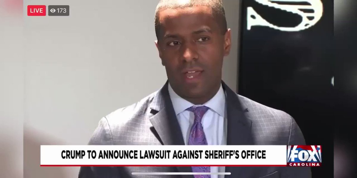 """#NEW  """"Resisting arrest is not a death penalty crime. Running from police is not a death penalty crime.""""  -@Bakari_Sellers  """"Failure to stop for a blue light ain't a death penalty crime."""" @foxcarolinanews #thread"""