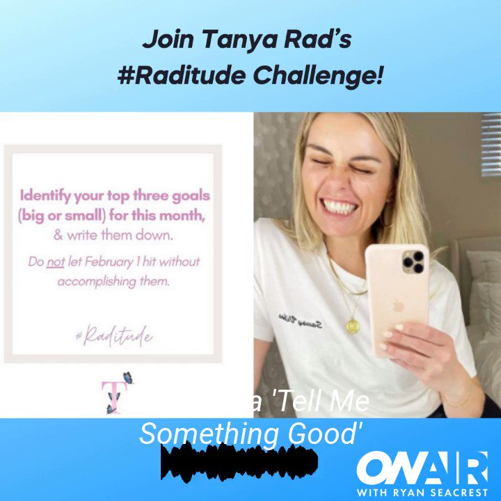 """Raditude is the attitude of a modern woman."" ✨ Join @TanyaRad's #Raditude challenge here:"
