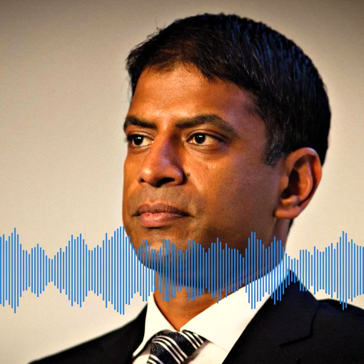 NEW EPISODE: On the latest #OOOPodcast @ThisisMallika sits down with @Novartis CEO @VasNarasimhan. They talk about celebrating his Indian American identity, how he's navigating the pandemic, and why he jumped into the Rhine River.