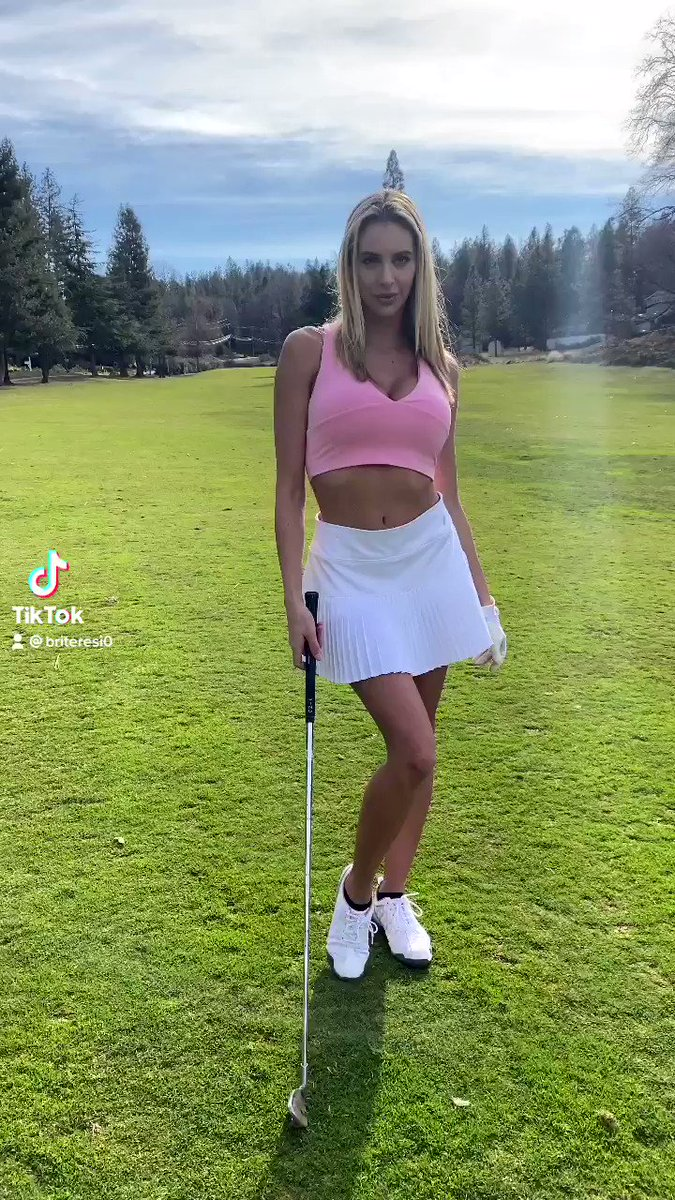 Tag someone who'd want to golf with me 🏌️♀️⛳️😉