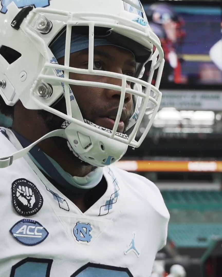 .@Tomon_fox is back and hungry for more 😤  #CarolinaFootball 🏈 #BeTheOne