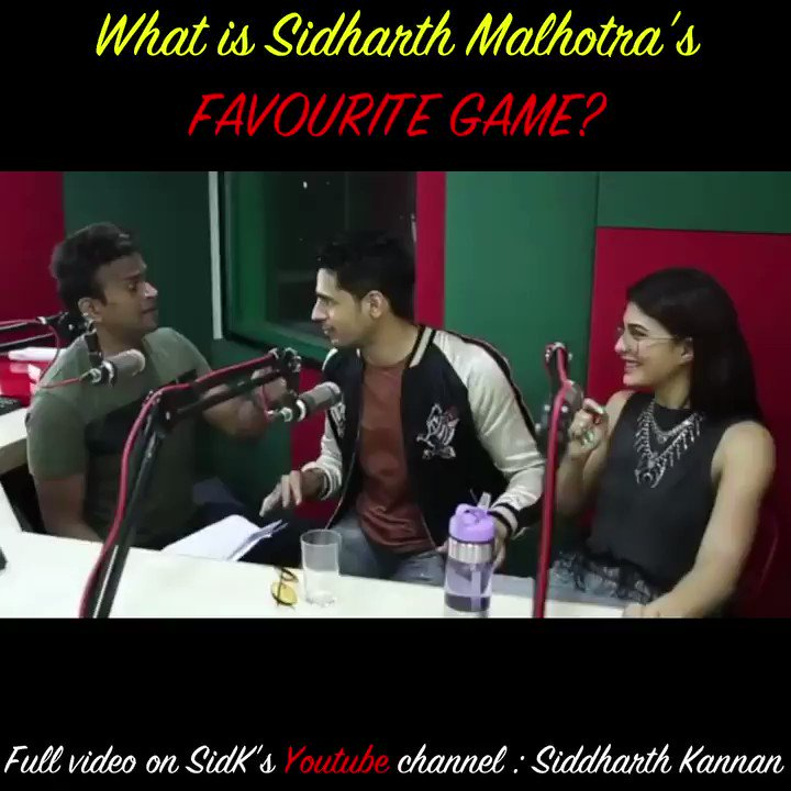 BOLO BOLO DOSTON!  #HappyBirthdaySidharthMalhotra  Catch the full video on my @YouTubeIndia  channel :   Don't forget to like, share and sub!!!  @SidMalhotra @ParineetiChopra  #Sidk #SiddharthKannan #SidharthMalhotra #HBDSidharthMalhotra