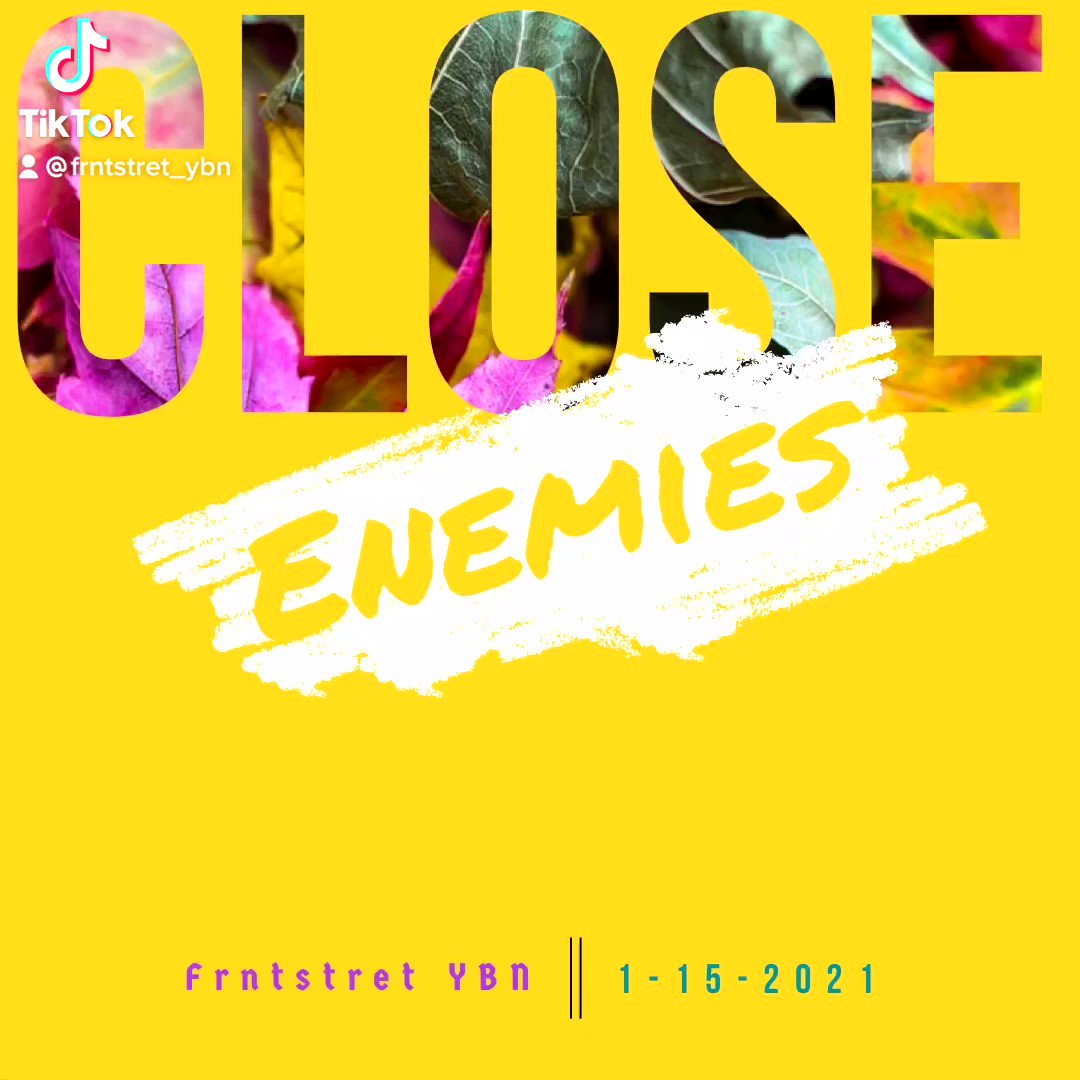"""""""Enemies Close"""" Out on All Platforms Today💪🏾💪🏾Go Check Outttt🔥🔥🔥#musician #music #rapmusic #popmusic #International #NewMusic2021 #NewMusicAlert #NewMusicDaily #Spotify #spotifywrapped #spotifyplaylist #Fortnite #twitchstreamer #TwitchRecap #TwitchStreamers #twitchcommunity"""
