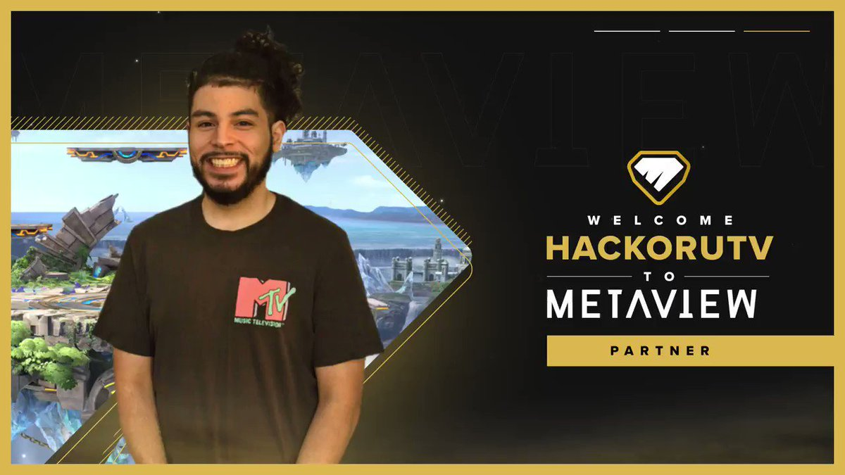 HackoruTV - Excited to share I'm a @Metaview Partner! Metaview is a new platform to watch the freshest gaming creator clips every day. You can find my newest clips in their app and in their Smash Playlist each week! Best on iOS:  | or Web