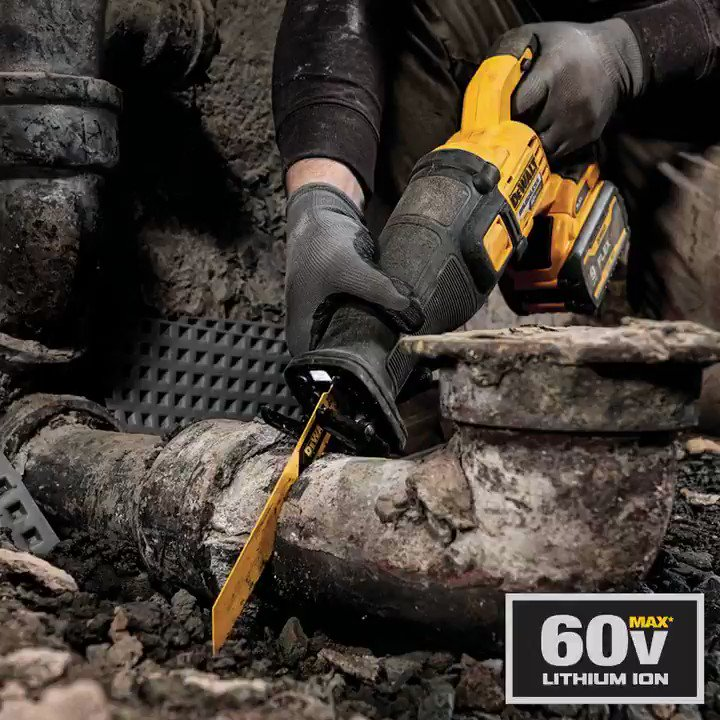 Talk about a stacked lineup. From grinders to circular saws, the 60V MAX* line of tools delivers the  power of corded with the convenience of cordless. #DEWALTTOUGH
