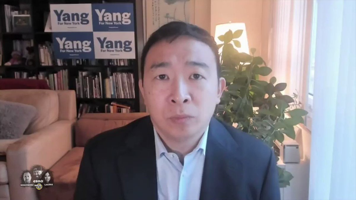 Candidate for #NYC Mayor, @AndrewYang addresses the backlash about some of his recent comments on #EbrointheMorning  Watch the full conversation: