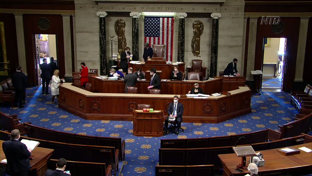 Many #Democrats criticized President Donald #Trump and even called for the removal of several Republican lawmakers for objecting to the #Electoral College vote on Jan. 6. They claim that it undermines democracy.  Full video: