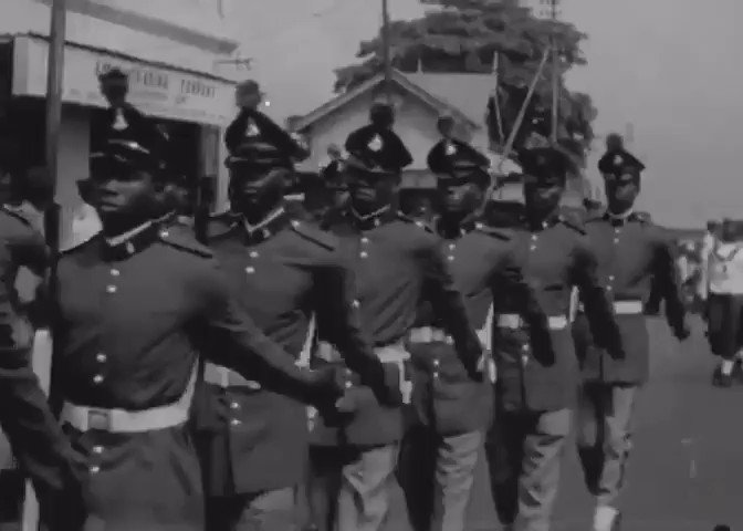 Armed Forces Remembrance Day, 1970. The year the war ended.  Head over to our Instagram to watch the full video.  🎥: Reuters    #thefacadenigeria  #RemembranceDay #historyofnigeria