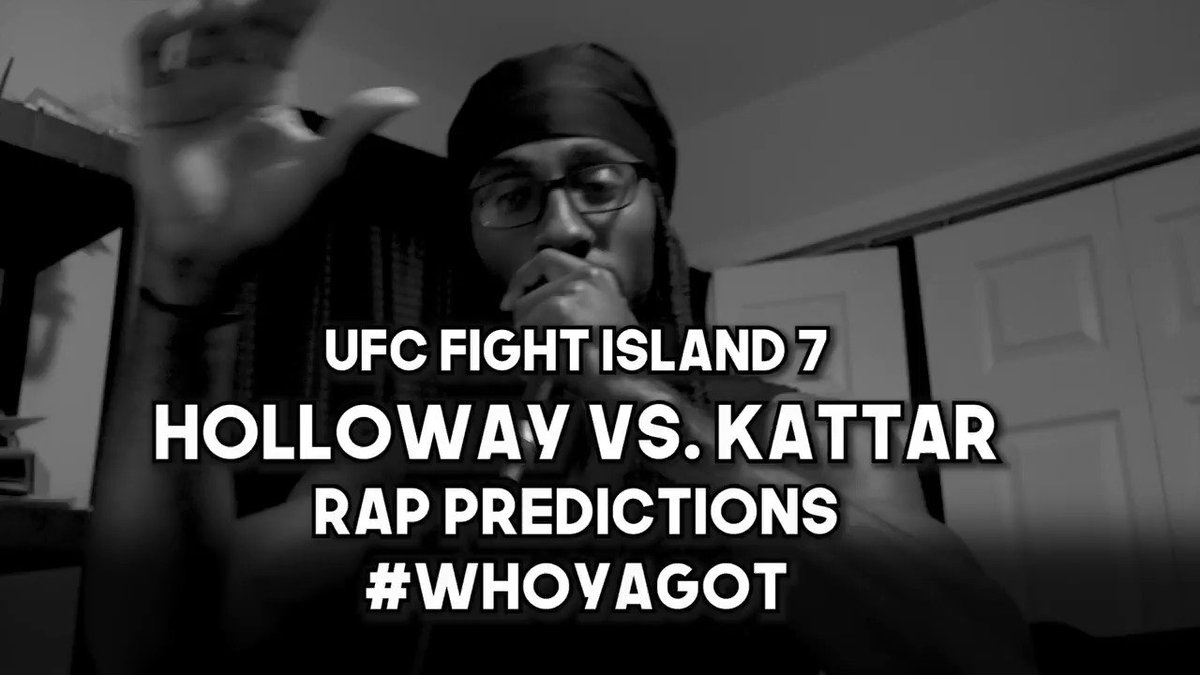 @ufc Fight Island 7 Predictions Rap! Let me know who you got in the thread! #whoyagot #UFCFightIsland7 #mma