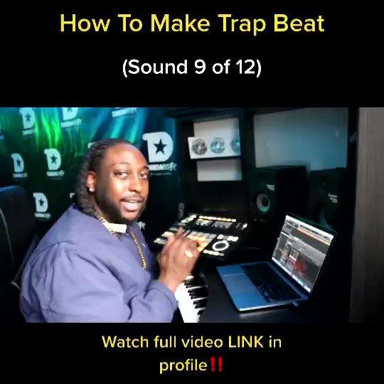 How To Make A Trap #Beat (Sound 9)  Full video LINK  🔥  #producerlife @drewstar1100 #dmv #howto #trapbeats #videooftheday #tutorial #maschinestudio #music #Friday #fridayvibes #dmvtalent #dmvarea #dmvmusic #dreadhead #marylandartist #dc #beatmaker