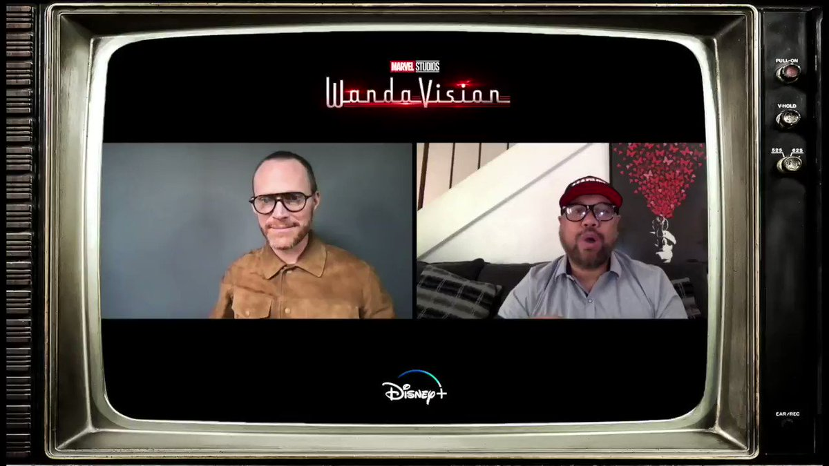 """I'm so excited to see more of #WandaVision streaming NOW on #DisneyPlus  """"they start hurtling through time at breakneck speed. And soon, Vision is beginning to question, """"What the hell is going on in this town?"""" - @Paul_Bettany"""