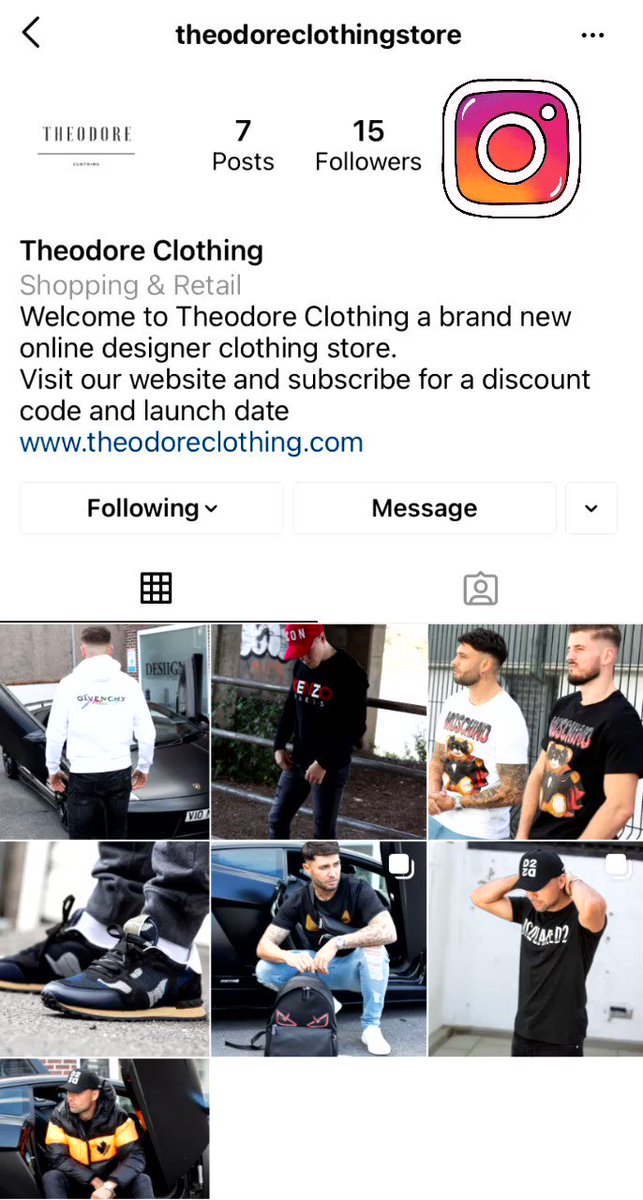 Theodore Clothing Ltd is now on Instagram! Head over and follow us for the latest brands and sales we have to offer. #theodoreclothing #clothingline #newrelease #instagram #fashion #followus #followus #onlineshop #smallbusiness #supportsmallbusiness #designer