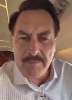 My Pillow Guy last week AFTER the insurrection (on his private jet) .   From Parler before it shut down...