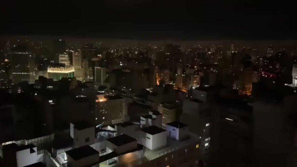 Forte panelaço em São Paulo! #ForaBolsonaro