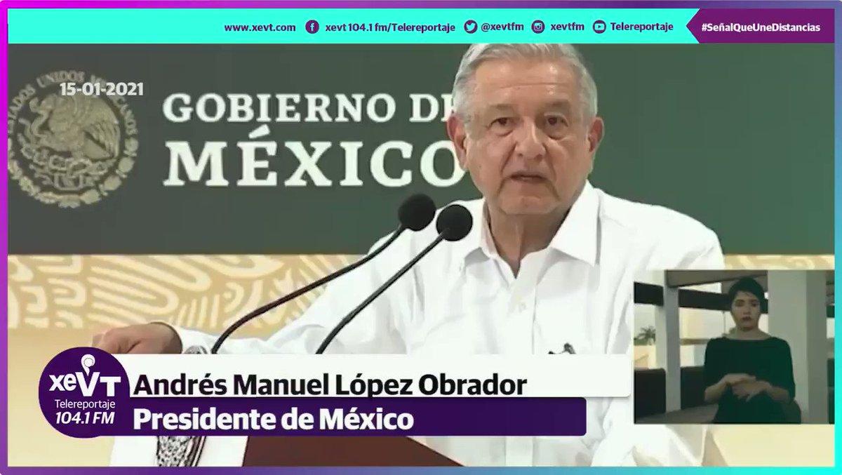 """""""Venimos a reforzar el propósito de que mejore la administración de los puertos de #México, que ya por ley están a cargo de la @SEMAR_mx"""": @lopezobrador_"""