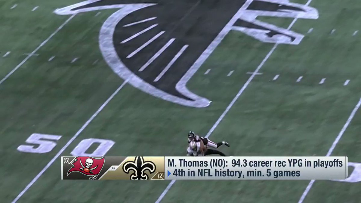 """""""There is NOBODY on this Tampa Bay team that can cover @Cantguardmike""""  @89JonesNTAF thinks Michael Thomas being back for the @Saints means trouble for the #Buccaneers 👀"""