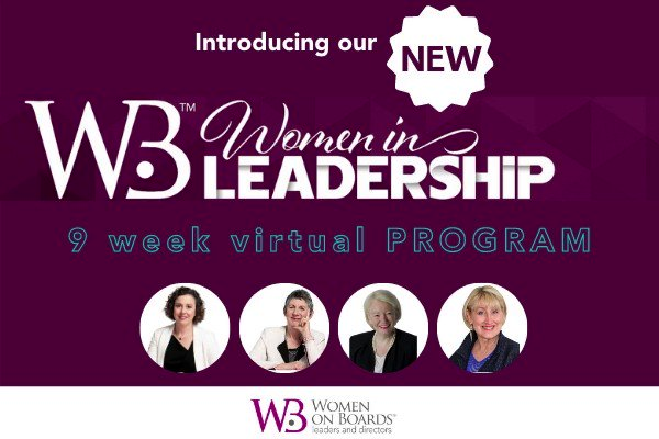 Is 2021 your year for professional growth?  Our new #WomenInLeadership program might be what you need.  >> Program Info   >> Info webinar 10/2    #WIL #womenleaders #womenonboards #careers #professionalwomen #management #startups