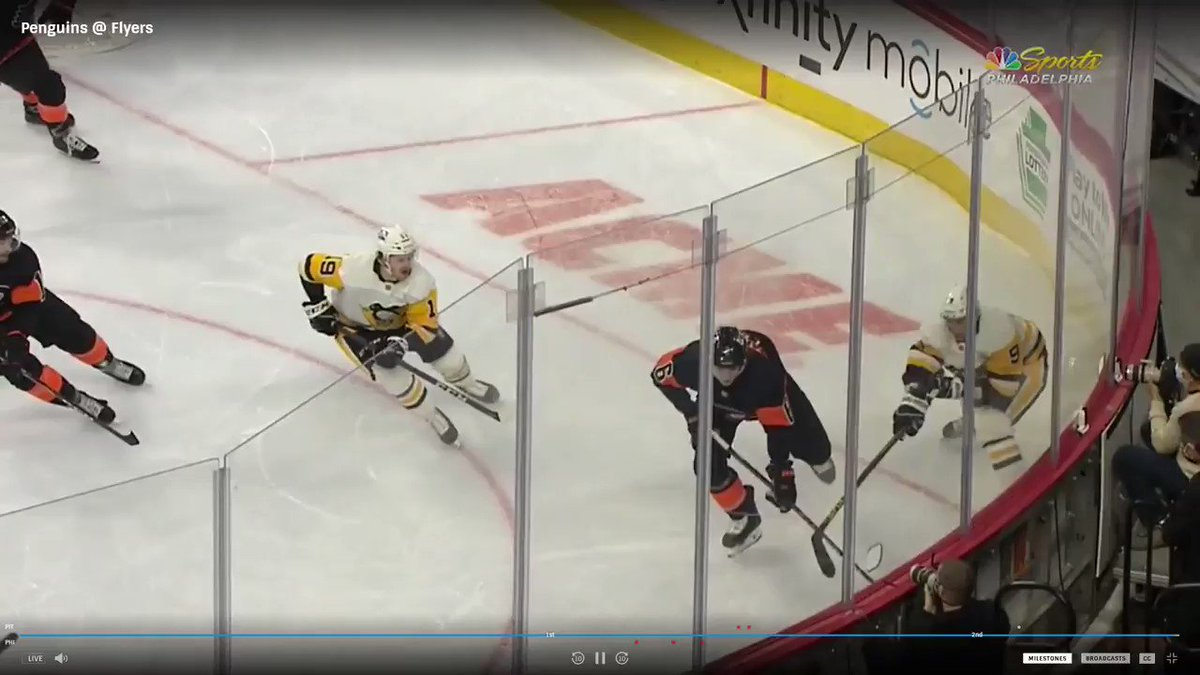 #Penguins forward Jared McCann gets fined $10,000 for this flying elbow