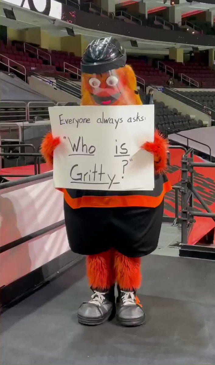 Replying to @GrittyNHL: Tru story