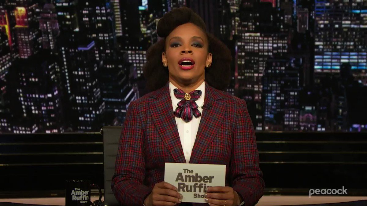 There's a soul patch on the loose in the studios of the #AmberRuffinShow. @AmberMRuffin