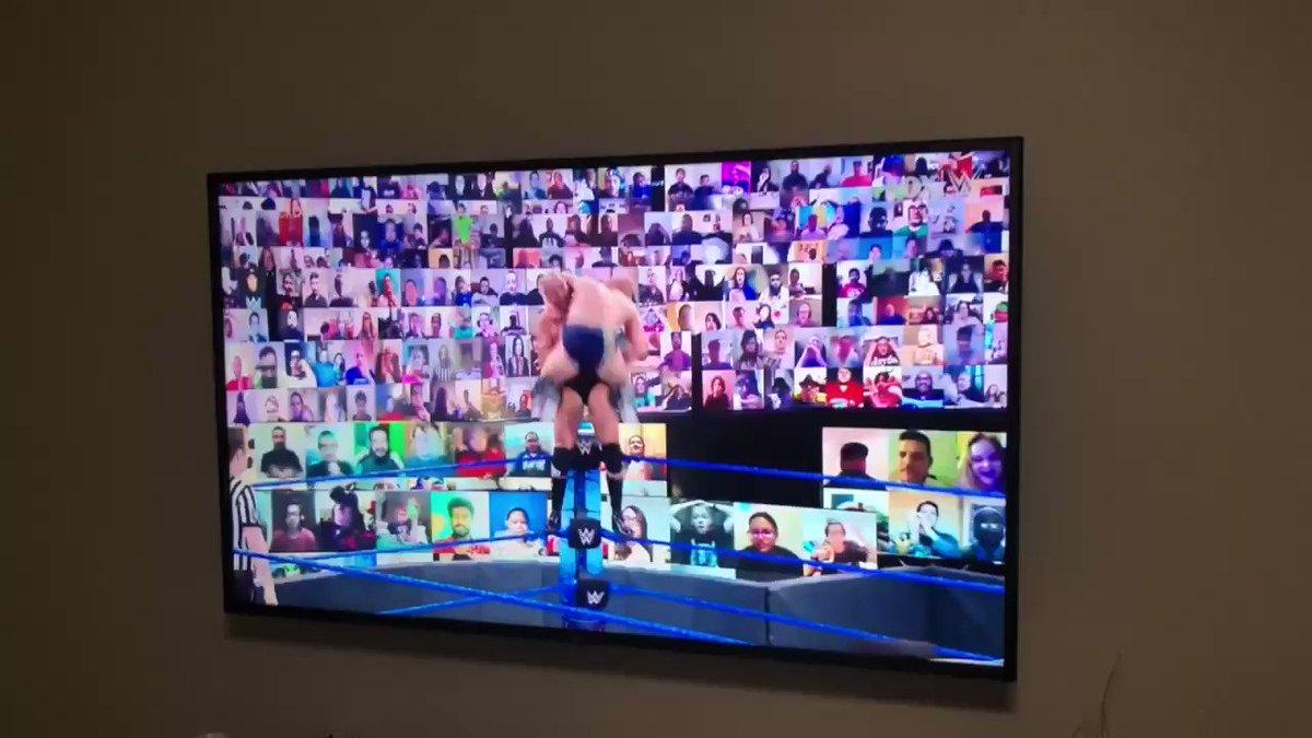 Cesaro vs Bryan hits different #smackdown