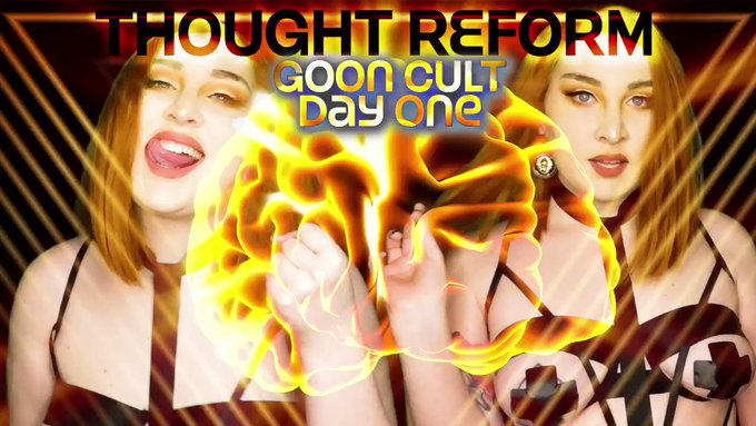 I love that on the first day of Goon Cult thought reform, I sold over 200 copies between all My platforms