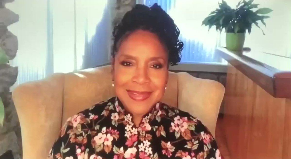 "💕💚 Phylicia Rashad's Founders Day tribute to her soror and soon to be #MVP Kamala Harris is thee loveliest thing ever!  ""With great love, and appreciation... we salute you."" 💕💚"