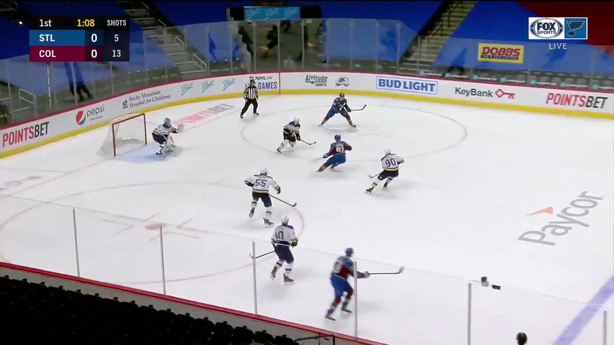 "via Hockeyweb : ""RT @NHL: Philipp Grubauer (@philgrubauer31) went 20/20 to backstop a 8-0 @Avalanche victory to earn the @pepsi shutout. #NHLFaceOff """