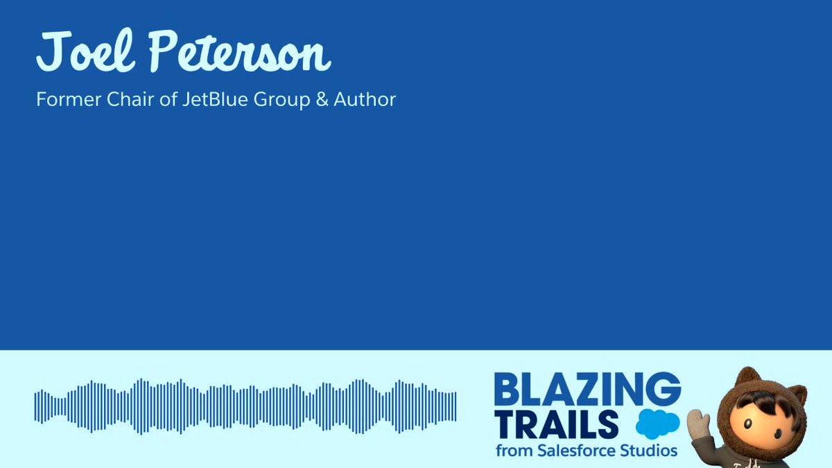 """❓What do great leaders have in common? ❓What is an """"entrepreneurial leader""""?  @Stanford professor, & author of Entrepreneurial Leadership, @JoelCPeterson says: a culture of feedback & transparency. Learn tips for leaders & managers on #BlazingTrails ▶️"""