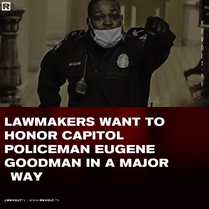 Lawmakers want to honor #USCapitol Police Officer #EugeneGoodman for risking his life in order to protect the senate 👏🏿🥇 A true hero.   Read more 👇🏿