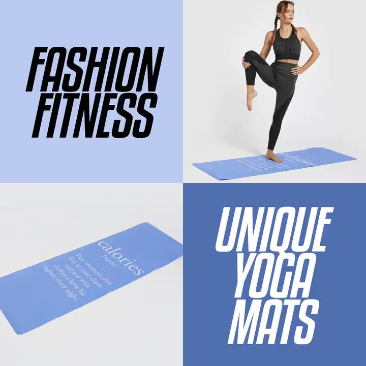 Playful & quirky yoga mats to get your Zen on (or to sweat it out at home)! Fashion fitness accessories available in-stores and online https://t.co/lPEpH5zv42