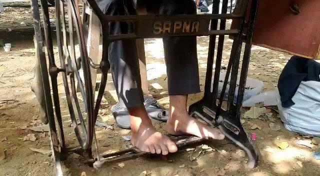 Sonu Sood tailor shop.  यहां मुफ्त में सिलाई की जाती है। पैंट की जगह निकर बन जाए, इसकी हमारी गारंटी नहीं 😂