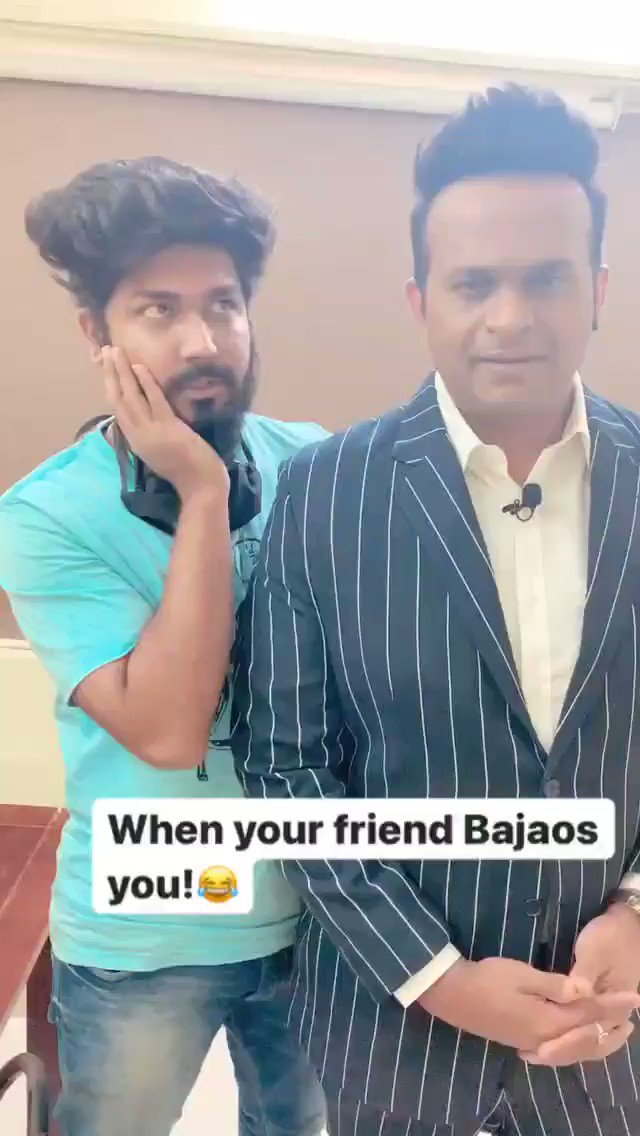"When you friends Bajaos you! 😂.  Tag your ""izzat"" friends ! 🤪  #SiddharthKannan #SidK #comedy #funny #memes #memesdaily #video #funnyvideos #SaturdayVibes #Bollywood"
