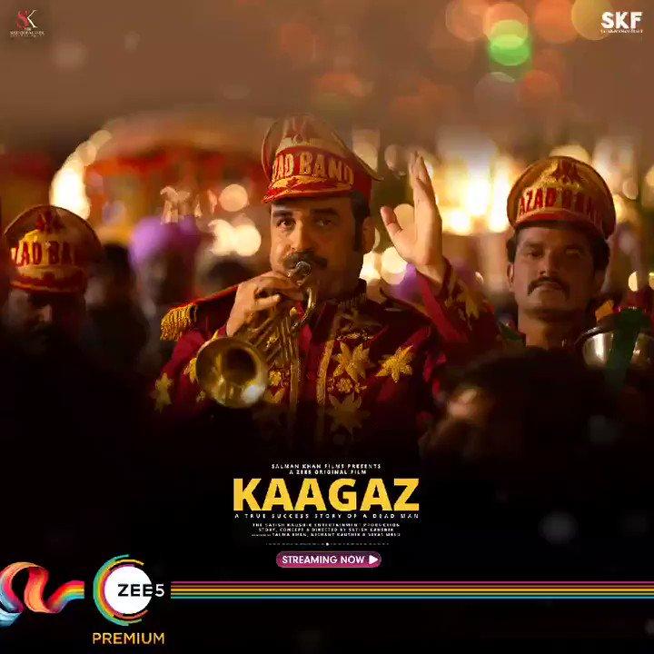 Sacche Bharat Ki Sacchi Kahaani ne sacch mein tareefon ki line laga di. #Kaagaz streaming now! #ProofMilGaya