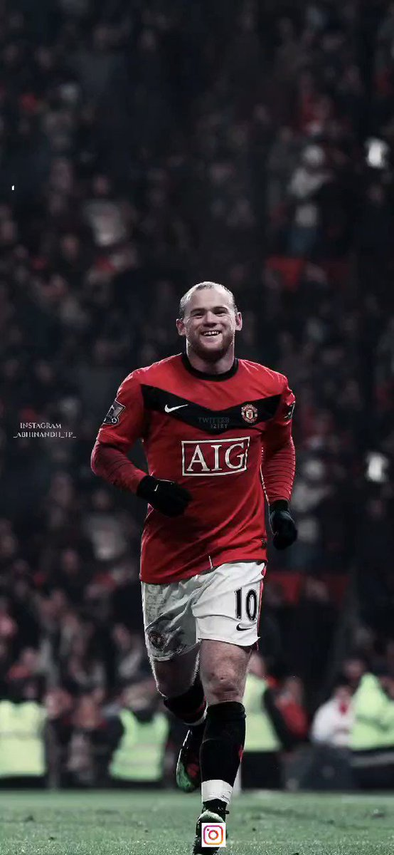 Thank you for the memories, Wazza.  #MUFC 🔴⚪⚫