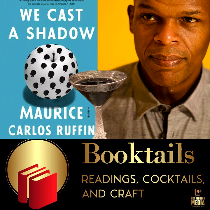 We are delighted to feature @MauriceRuffin talking about and reading from his book We Cast A Shadow as the January featured author on the Booktails podcast, co-hosted by @suitcasenall and @hfowlerwrites. Don't miss this one! Full episode here: