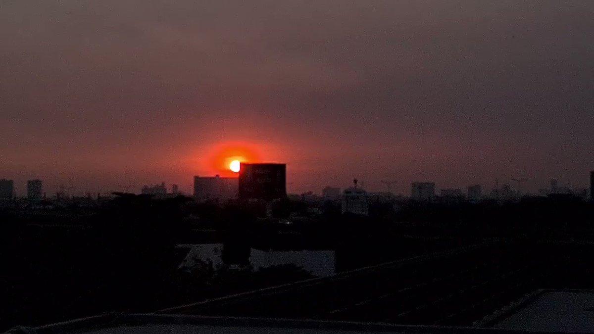 #sunset     เผลอแป็ปๆผ่านจากปีใหม่มาครึ่งเดือนละ