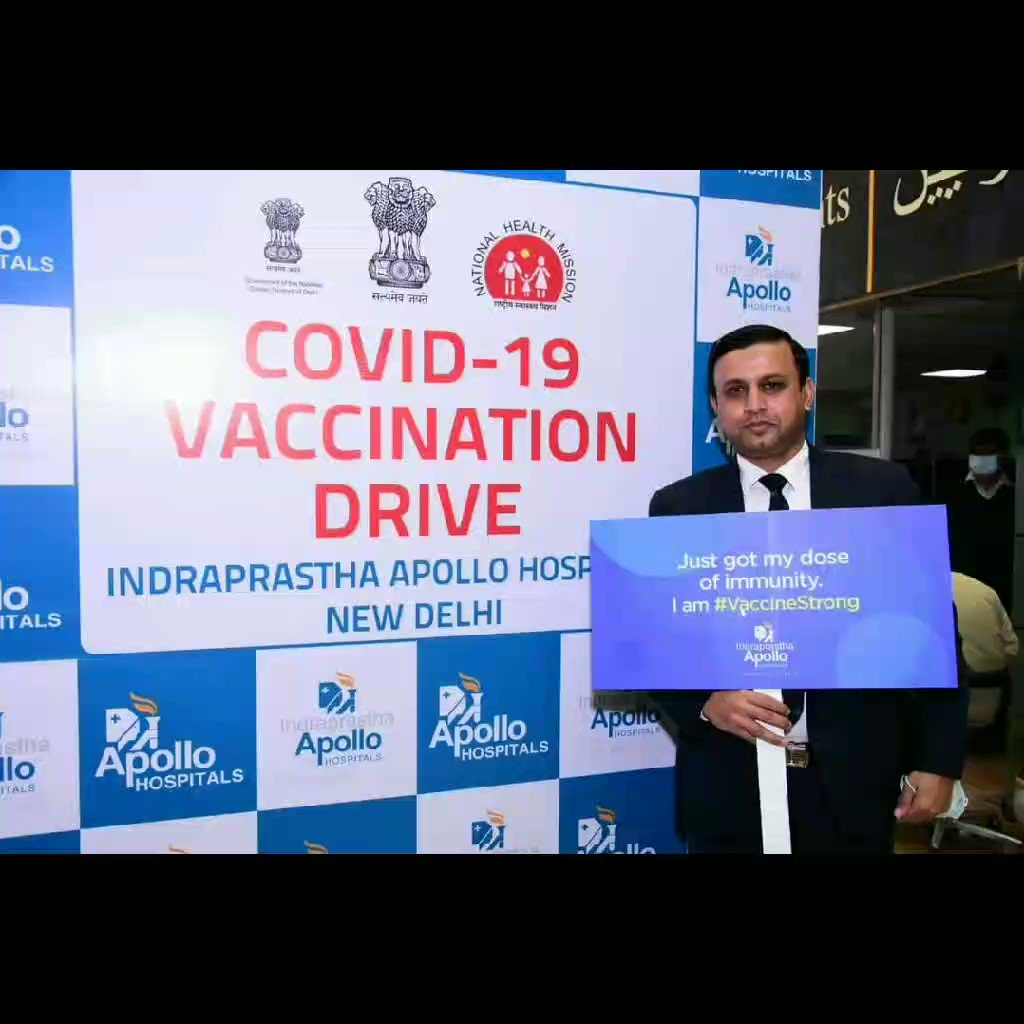 As part of it's social responsibility, Apollo Hospitals Group administers COVID-19 vaccines at its various facilities throughout India  #ApolloHospitals #COVIDVaccine #COVID19Vaccine #ApolloNeverSleeps #India #SocialResponsibility