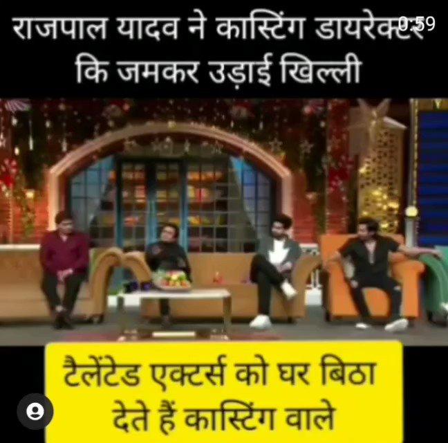 Rajpal Yadav explains why #coolieno1 flopped.  Look at #SaraAliKhan And #VarunDhawan's expressions.  Lol.